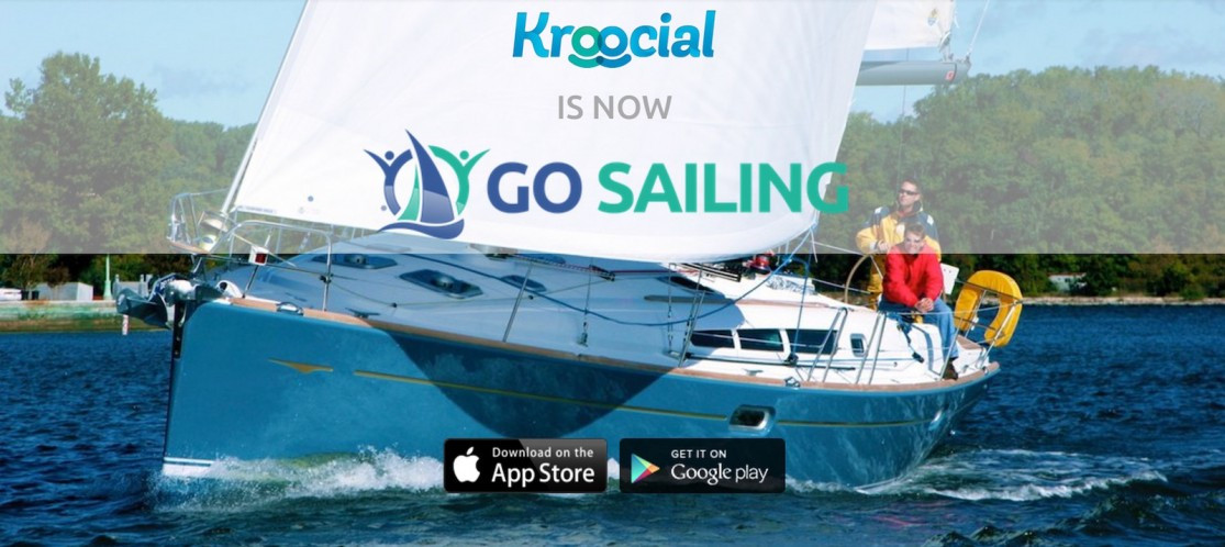 Kroocial is now Go Sailing