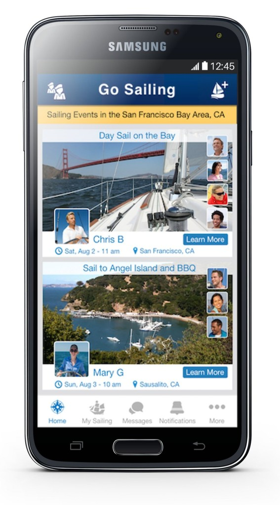 GO SAILING Android App