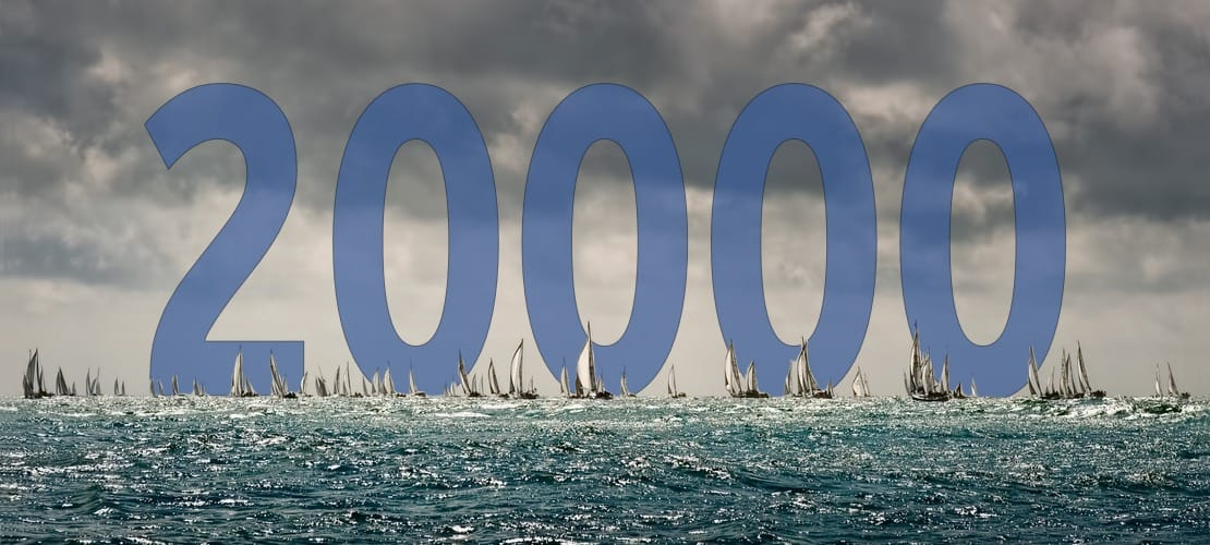 20,000 GO SAILING Users